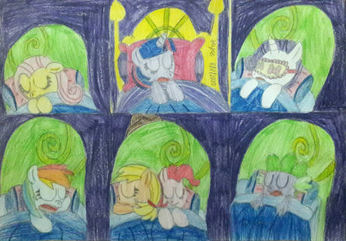 REQUEST - Sleepover in the Castle