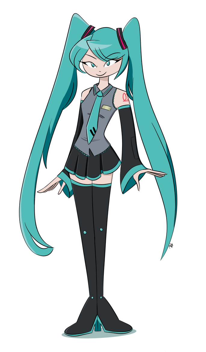 Hatsune Miku by AirFreshenerFuture