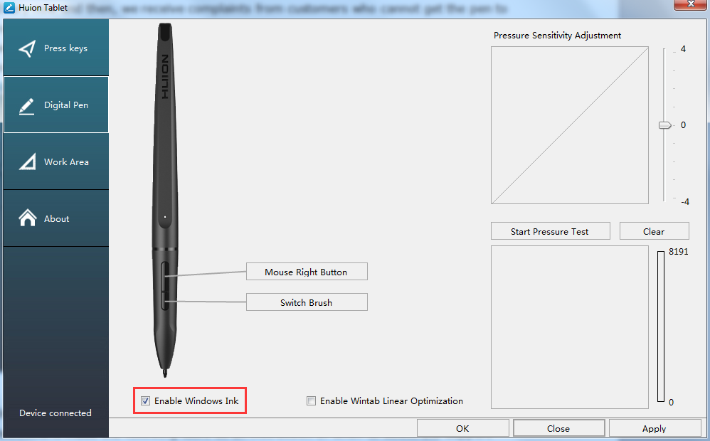 Update:Huion Driver Setting Tips for Windows Users by huion
