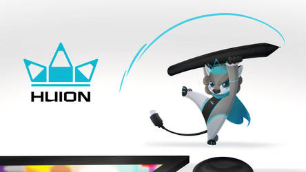 Huion mascot by huion