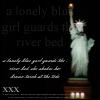 Lonely Blue Girl by 12-BLaCK-RainB0Ws