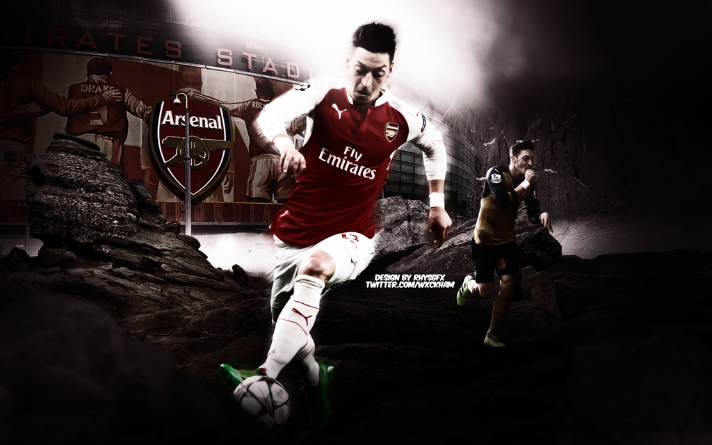Mesut Ozil Wallpaper By RhysGFX On DeviantArt