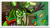 Sophie the Swamp Witch Stamp by Ember-Lily