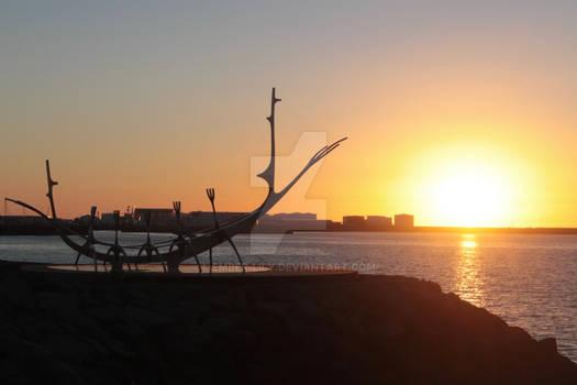 Sun Voyager Sunset