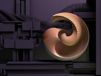 Making The Nautilus by paulcorfield