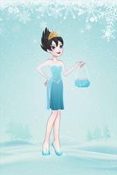 Evil!Elsa in an app