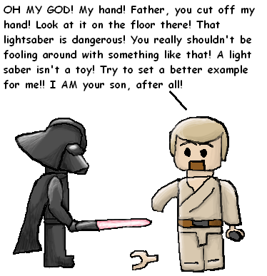 Lego Star Wars II: OH MY GOD by Quilofire