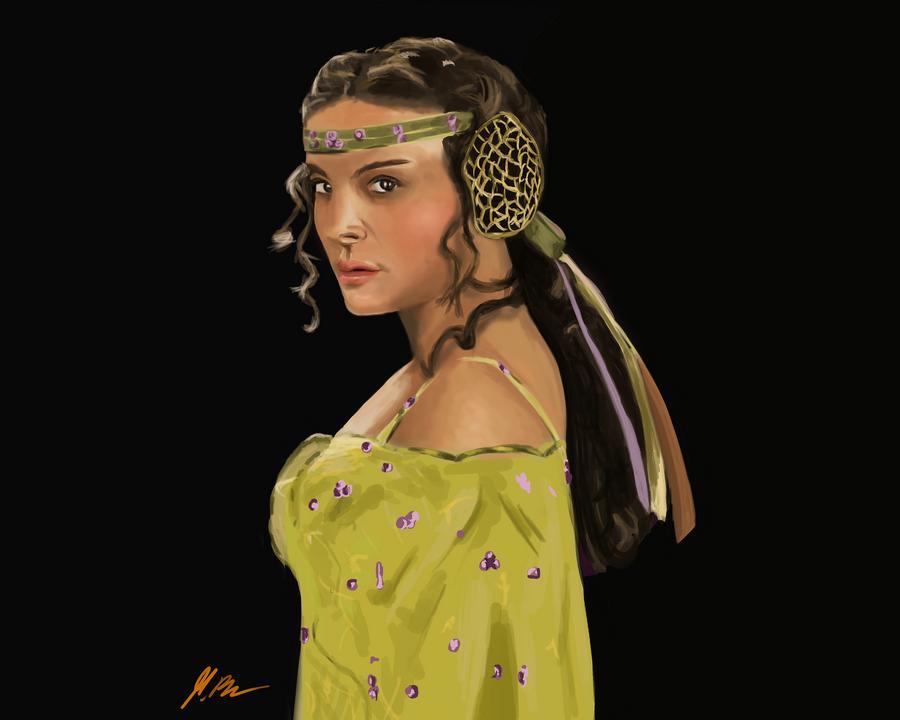 Princess amidala by marcobergerart on deviantart - Princesse amidala ...