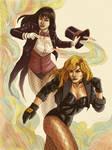 Zatanna and Black Canary