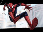 Here comes the Spider-Man