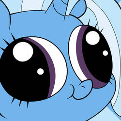 Trixie is watching you