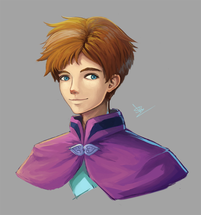 Male Anna Test Paint by a-wen