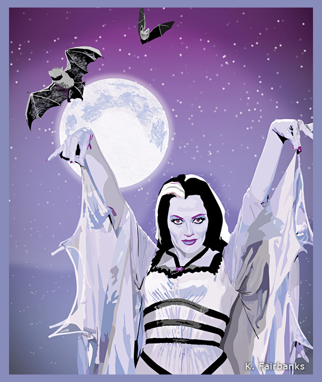 Yvonne DeCarlo as Lily Munster by eyeqandy