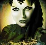 Lana Parrilla as Evil Queen (Digital Painting)