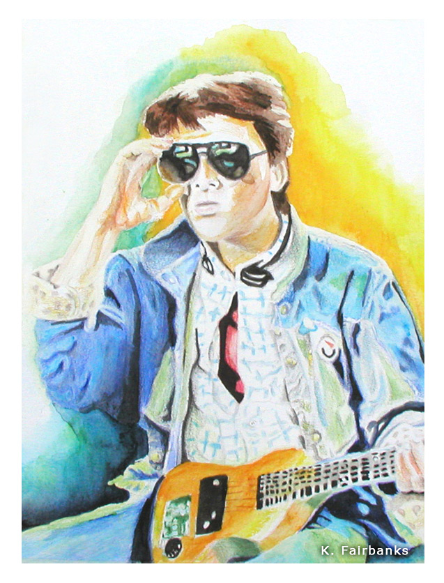 Marty McFly (painting) by eyeqandy