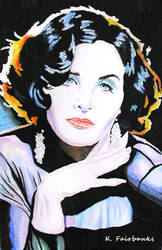 Sherilyn Fenn Portrait by eyeqandy