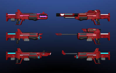 X500 Energy weapon series