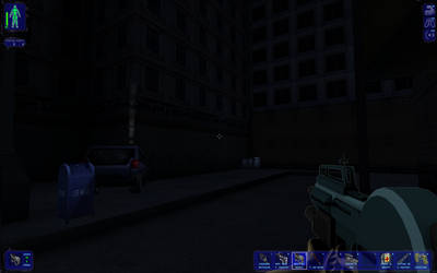 A Deus Ex Factice Screen Capture