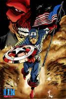 Captain America by NimeshMorarji