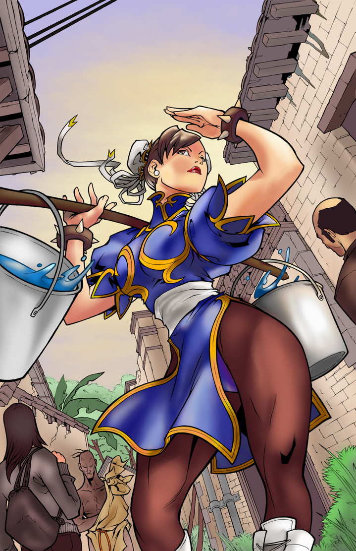 [Battle Artist] Chun Li by NimeshMorarji