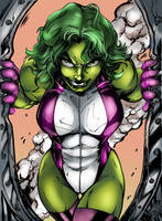 She Hulk by NimeshMorarji