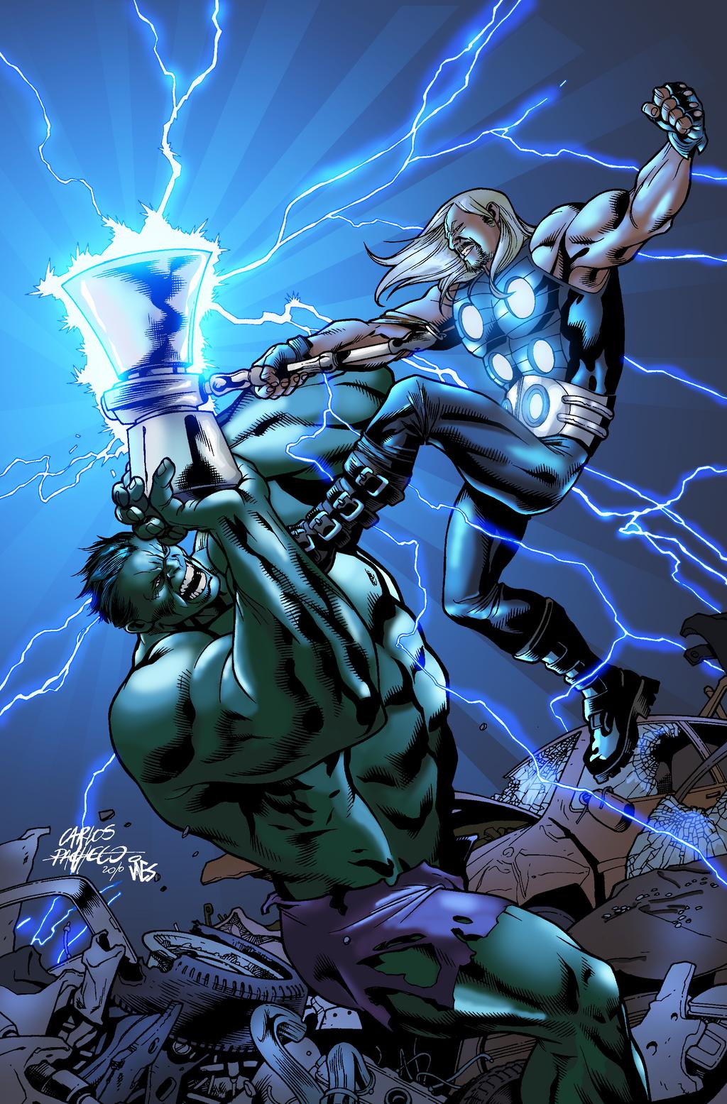 thor vs hulk by nimprod on deviantart