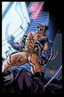 Wolverine Tokyo kill by NimeshMorarji