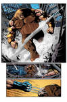 [Battle Artist] Wolverine Sample Page 2