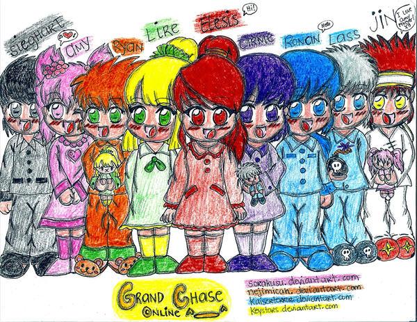 Grand Chase Characters by sorakusu