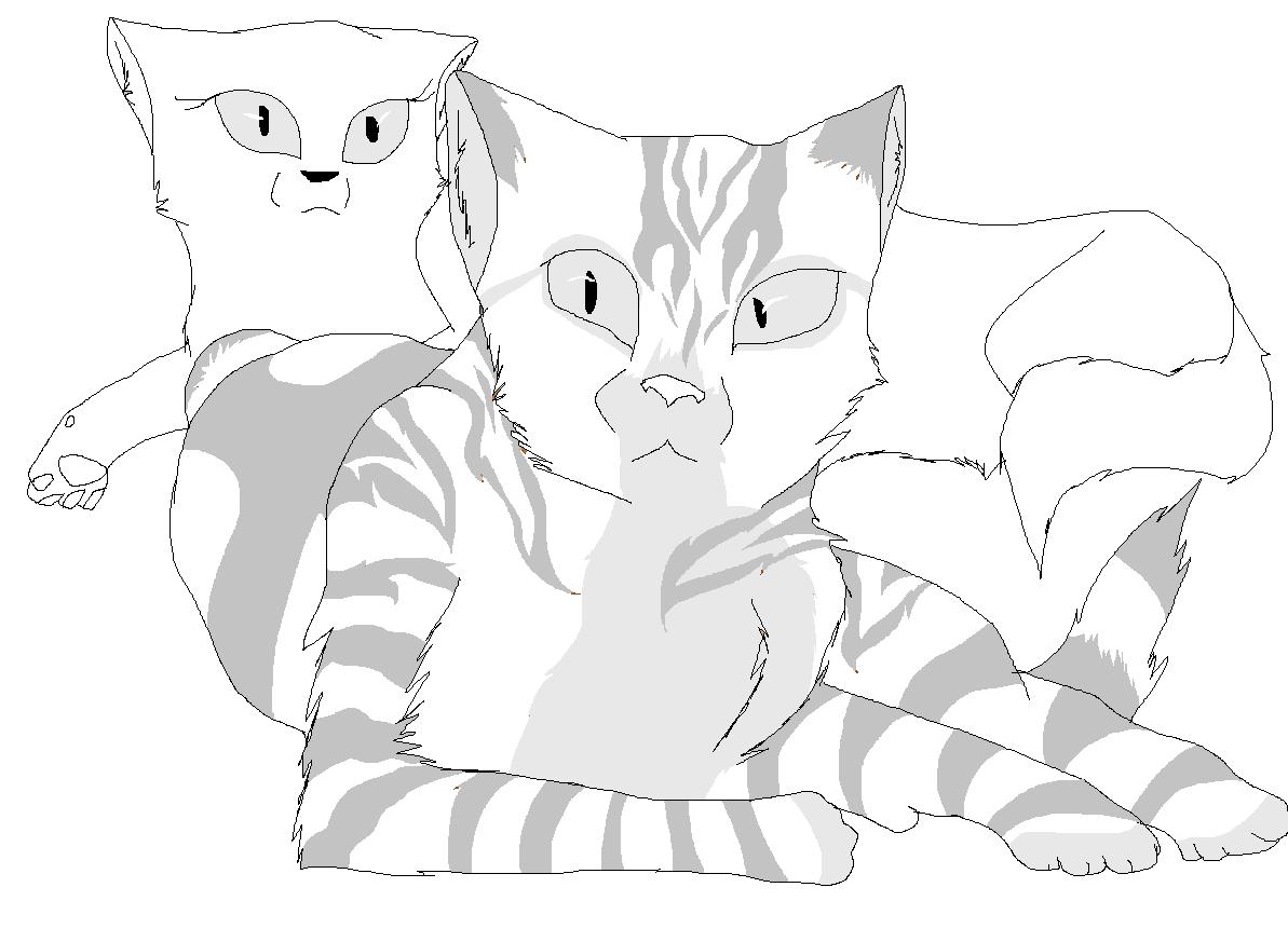 Warrior Cats Lineart By Moonstar214 On DeviantArt