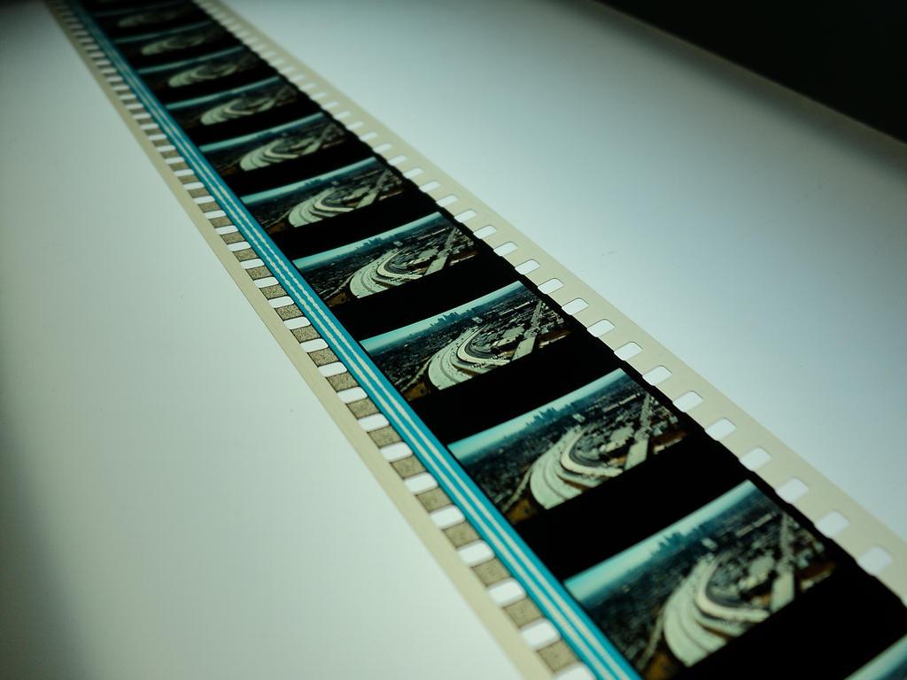 35mm film strip stock