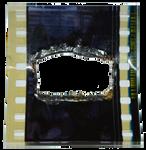 Burned 35mm frame Cuadro 35mm quemado