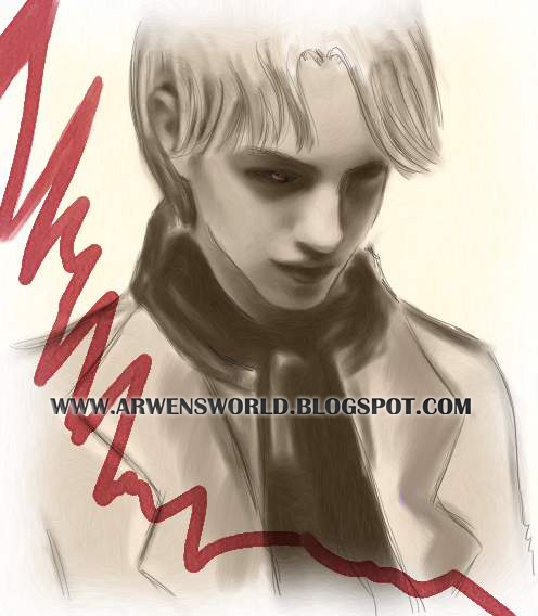 Johan Liebert (realistic Drawing) By Arwenkeisama On