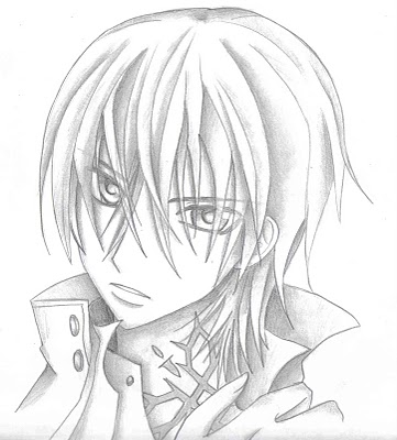 vampire knight zero coloring pages - photo#33