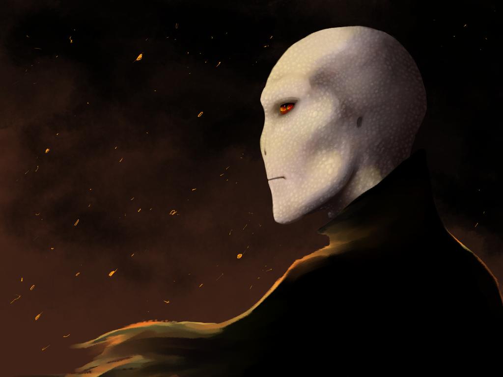 Voldemort. by Medenadragon