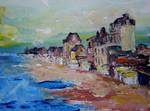 La plage de St. Aubin