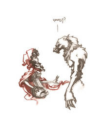 little red riding hood by stoudaa