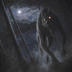 werewolf attack by stoudaa