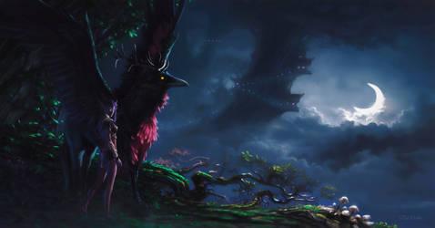 night elf by stoudaa