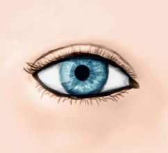 Eye test by hapliniste