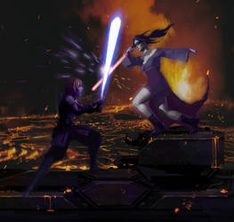 Cal vs Malya by Shin500 by Valyrian-Wildfire626