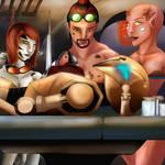 Droid Workshop by CaraSilvaArt by TheWillofDarthAvis