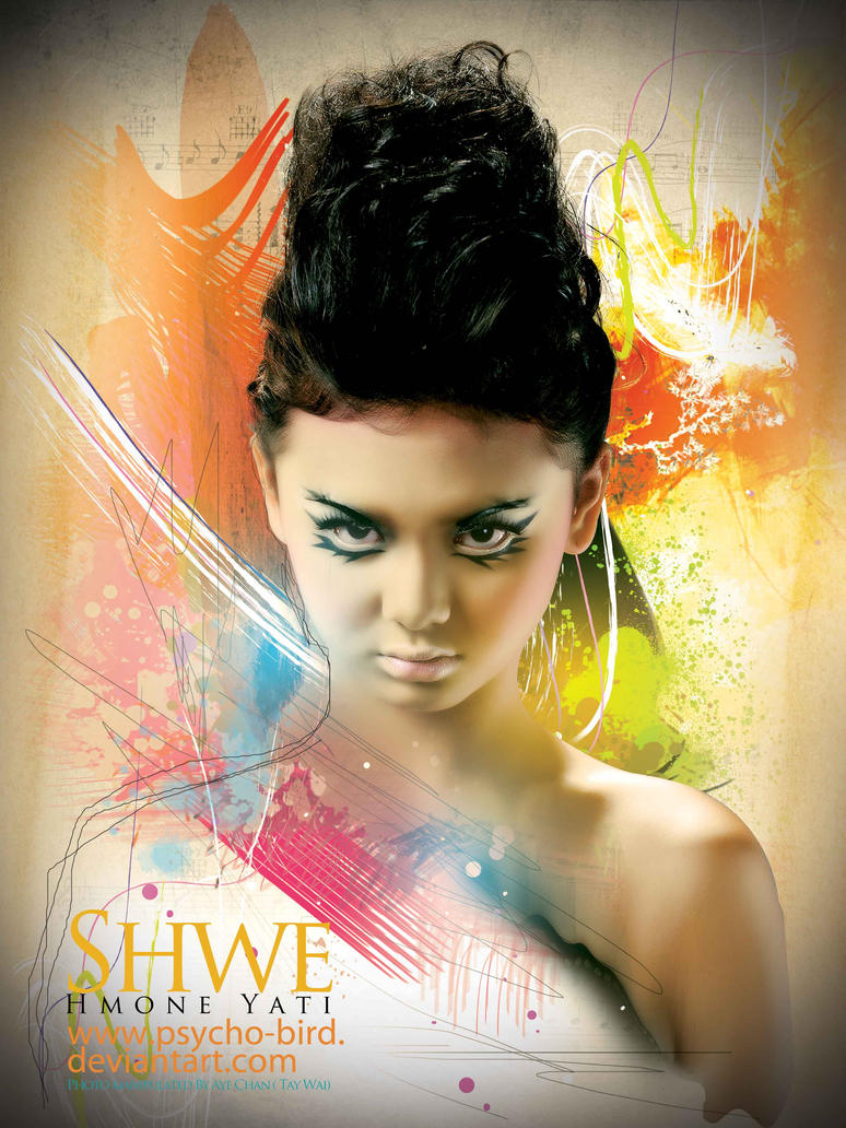 Shwe Hmone YATI by psycho-bird