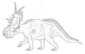 Pachyrhinosaurus by SommoDracorex