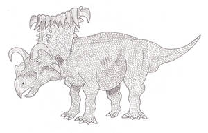 kosmoceratops by SommoDracorex