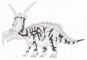 Einiosaurus by SommoDracorex