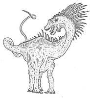 Amargasaurus 3 by SommoDracorex