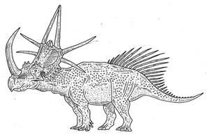 Rubeosaurus 2 by SommoDracorex