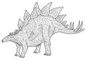 Jurassic Park stegosaurus 2 by SommoDracorex