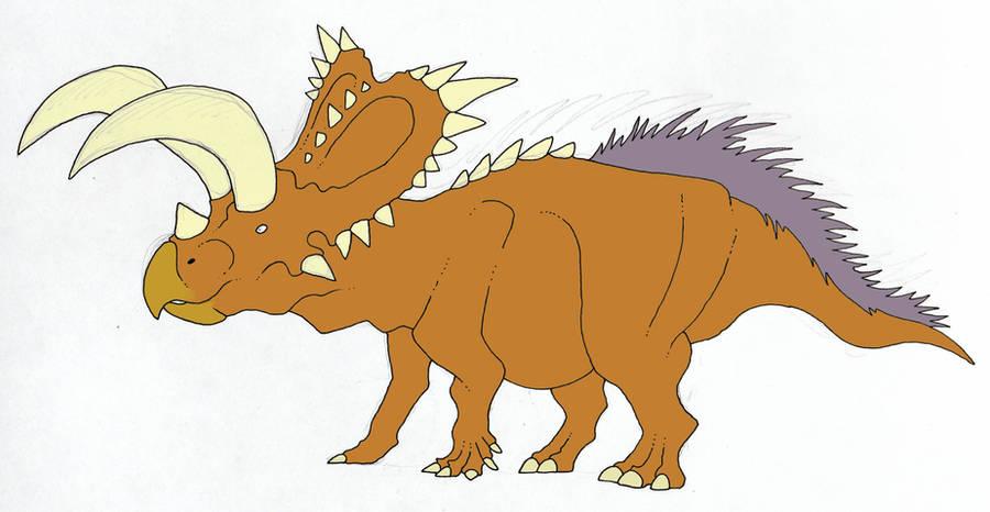 Coahuilaceratops in progress by SommoDracorex